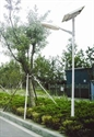 Picture of PHP-YDS15 Solar Parking Lot Light (15W Double LED Lamp 4M Pole)